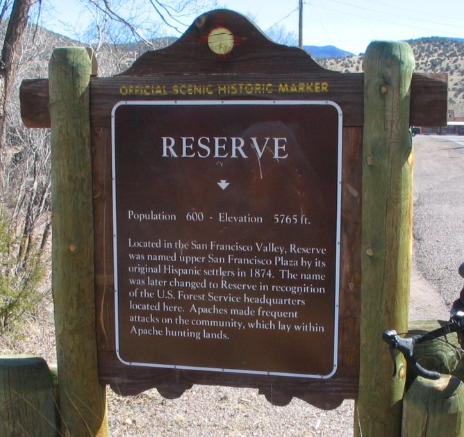 Reserve, New Mexico
