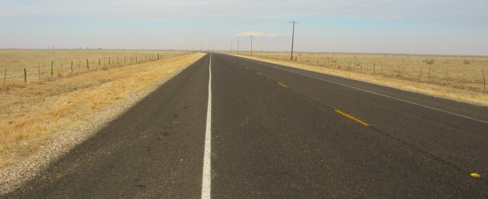Highway 380 in West Texas